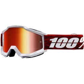 100% Accuri Anti Fog Mirror Goggles graham